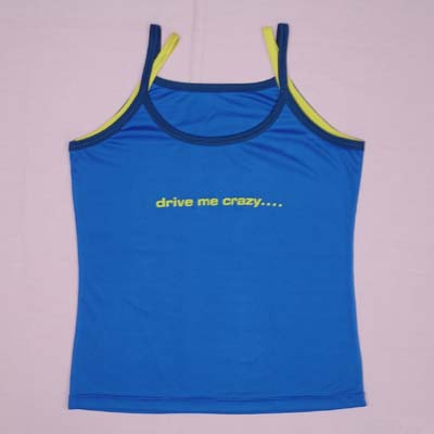 Ladies Vest Top - Moisture Function